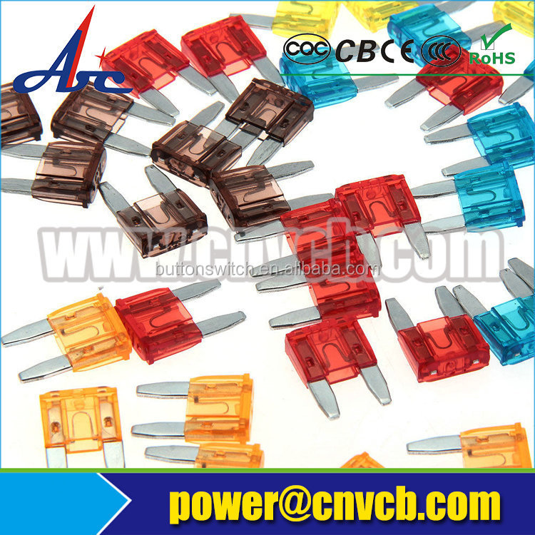FH07 MF-528 short type 12mm panel cut-out 10a fuse holder