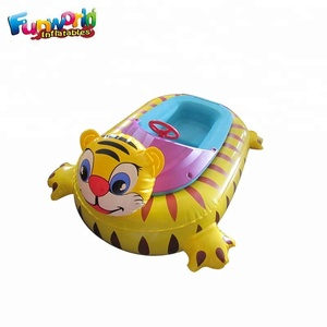 Electric Bumper Boat inflatable motorized jet ski for pool