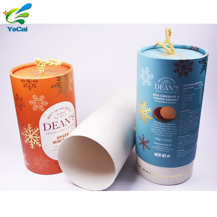 China manufacture printing color paper core tube , corrugated packaging box with good service