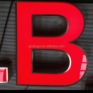 custom front lit channel letters sign advertising display ul certified illuminated big led letters