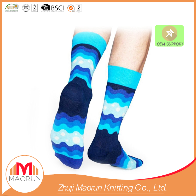 MAORUN-0175 colourful mens socks