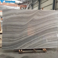 Fengshuo beautiful veins marble tile engineered natural gray marble slab marble stone