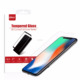 Professional manufacturer tempered glass screen protectors for iphone X accept OEM mobile tempered glass