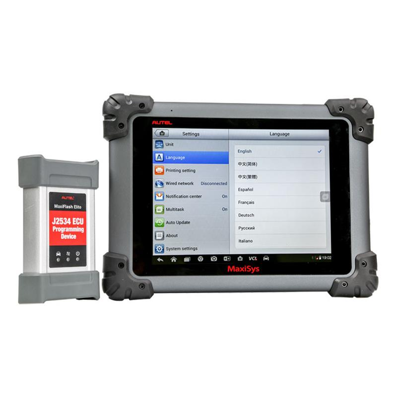 Autel originale MaxiSys MS908 FullSystem con MaxiFlash Elite ECU Aggiornamento On-Line OBD Scanner MS908P