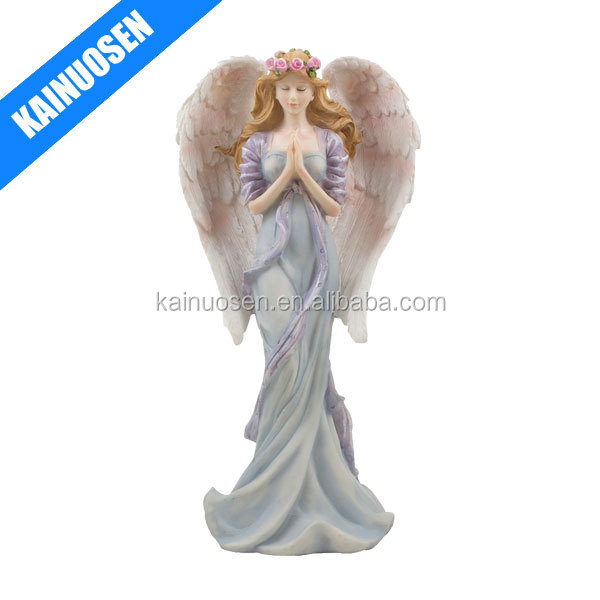 Praying polyresin angel crafts