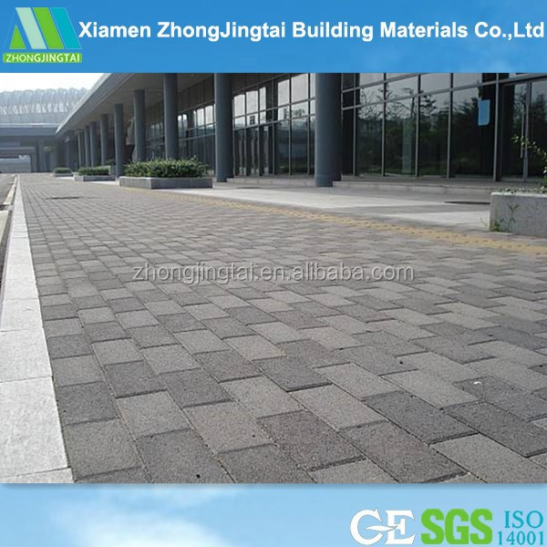 china provided High quality anti-skid noise reduction water permeable brick ceiling tiles