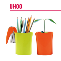 High quality colorful PP pen holder