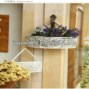 Wholesale new arrival metal plant hanging basket as home decor