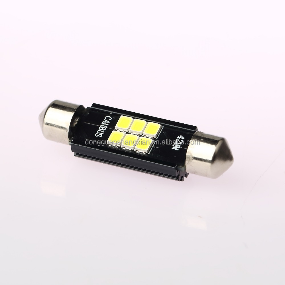 Festoon C5W 31mm 6SMD 3030 LED canbus light car reading light