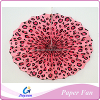 Kinds of Paper Fans with Personalised Logo and Design