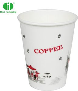 Disposable Chinese style foam paper cup