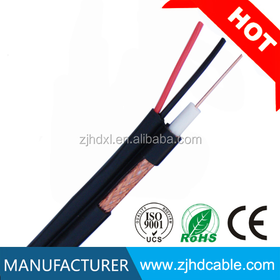 Hot Selling Cctv Cable With Factory Price High Quality Coaxial Cable Rg59 /RG59 Combined 2/18awg Power Cable