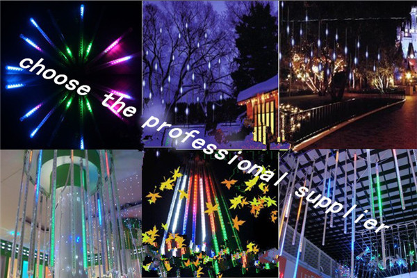 New Design Attractive Sells-out Led Meteor Shower Outdoor Led Tree ...