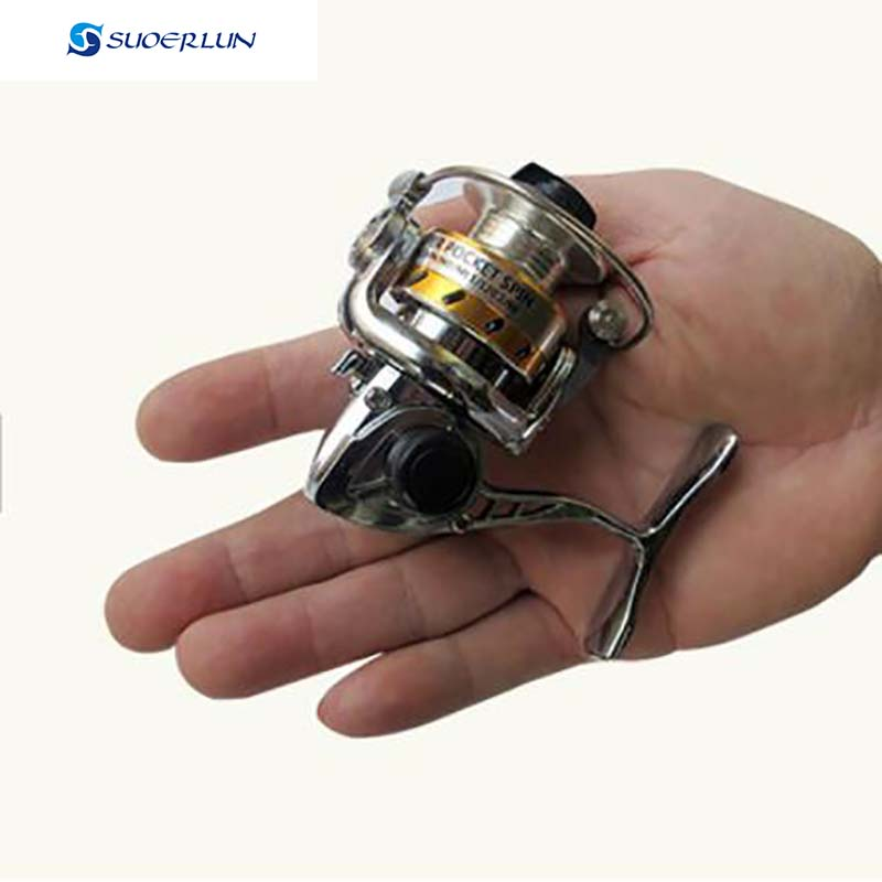 MINI full metal Bait Casting Baitcasting Jig Spinning Round Raft Lure Wheel Small Reel Water Ice Fishing Reel