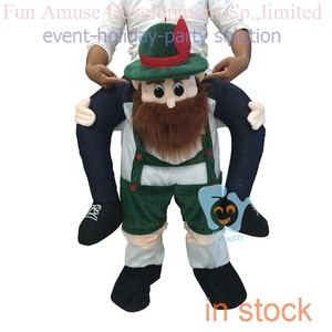 adult bavarian beer pants mascot costume for holidays