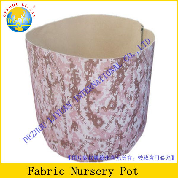Excellent drainage biodegradable non-woven fabric fruit tree grow bags/ nursery pots