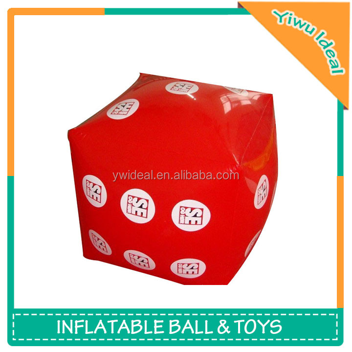 Promotion Design Inflatable Big Print Square Beach Ball