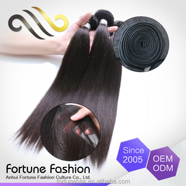 Good Service Distribute Short Middle Long Length Human Hair Private Label Human Hair Brazilian Straight Hair Weave Bundles