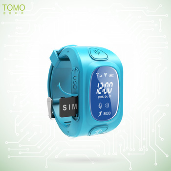 GPS watch with android and iOS tracking bluetooth smart watch