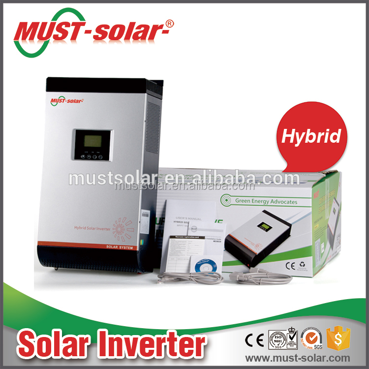 Hot ! Top sale solar inverter grid tie with battery back up for solar power plant
