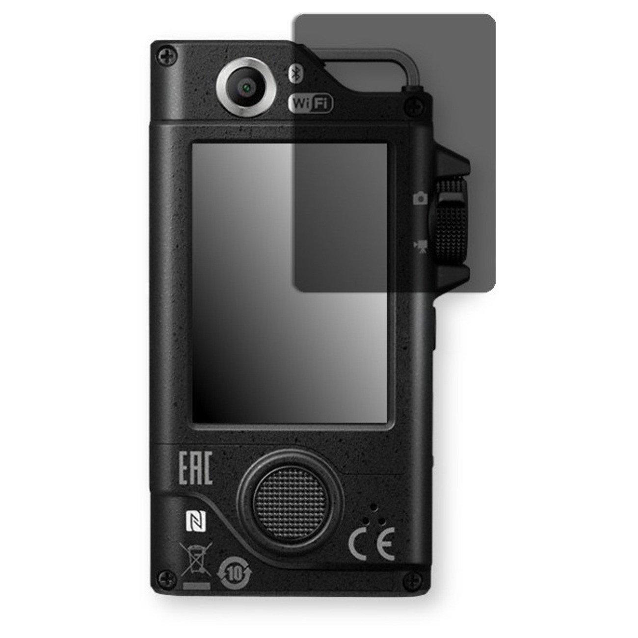 Golebo Screen Film for Privacy protection black for Nikon KeyMission 80 - PREMIUM QUALITY
