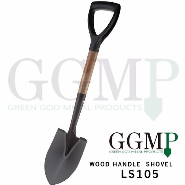 Carbon Steel Agriculture Farming Wooden Handle Garden Spade Shovel Shovels