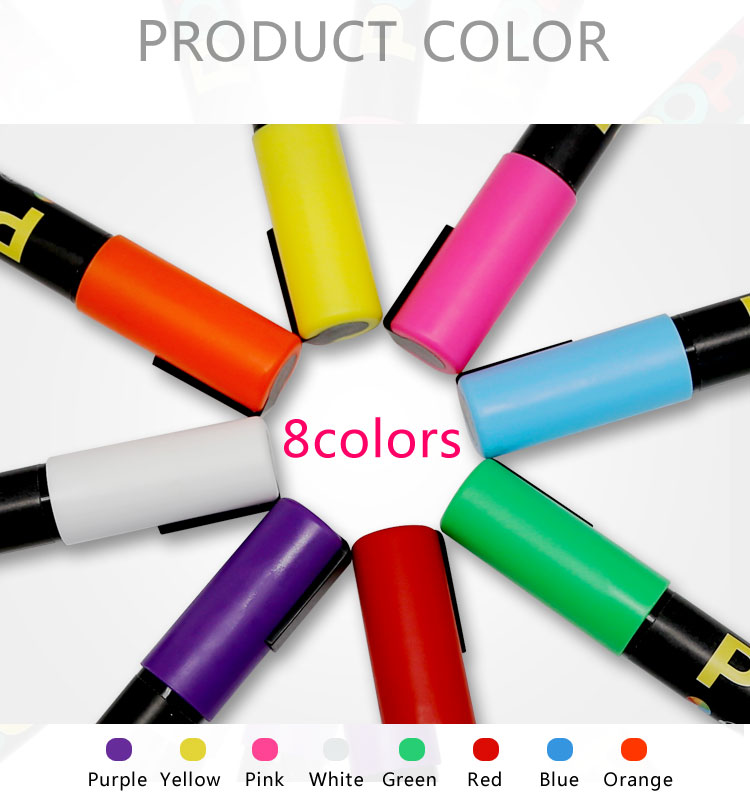 permanent on porous surfaces, OUTDOOR use rain resistant marker