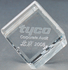 Optical glass classics Crystal internal laser engraving crystal paperweight crystal gift