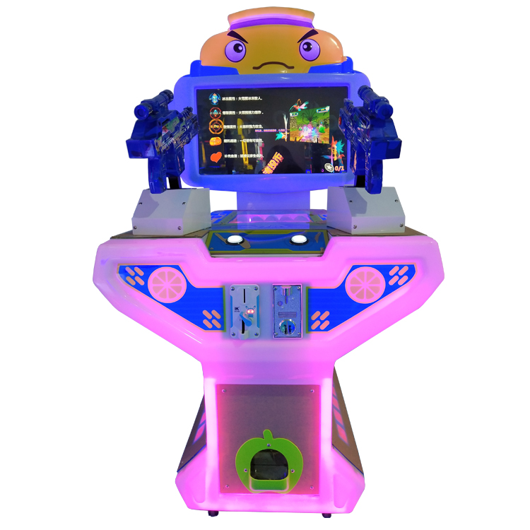 Muntautomaat machine Token Arcade Games Elektronische Pistool Shooting Games Machine Voor Kinderen