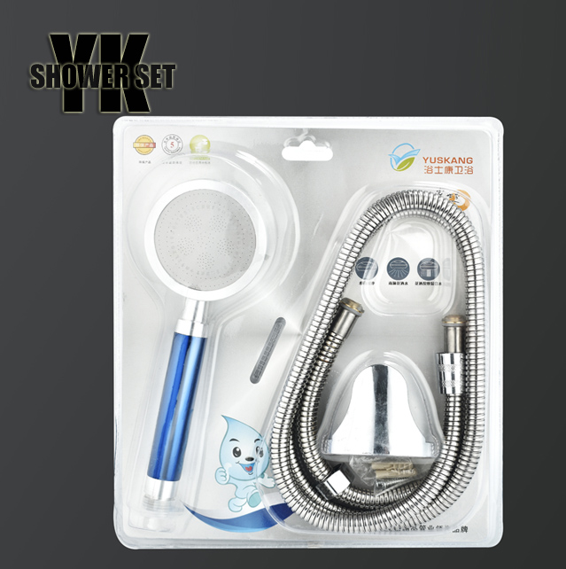 New ABS Hand shower with stainless steel hose, hand shower set