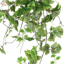 wall plant artificial hanging grape leaf for home decoration