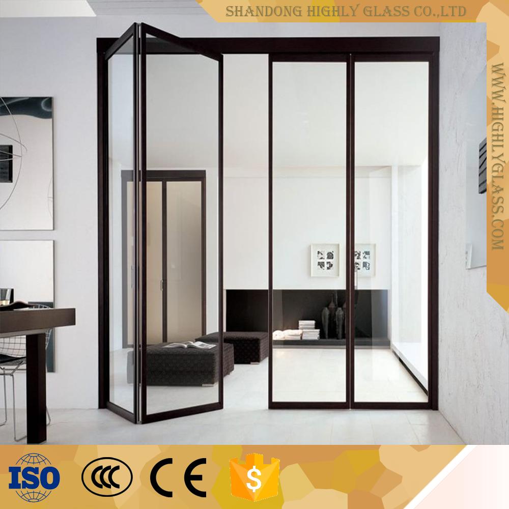 Novo Vidro De Alum Nio Porta Sanfonada Concertina Buy Product On  ~ Porta Sanfonada Para Cozinha