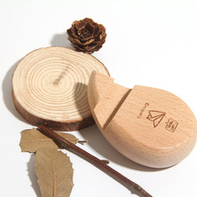 Practical camphor wood creative mobile phone bracket company gift activity small gifts new and strange gifts