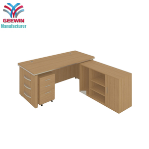 Factory wholesale wearable wooden melamine office computer desk
