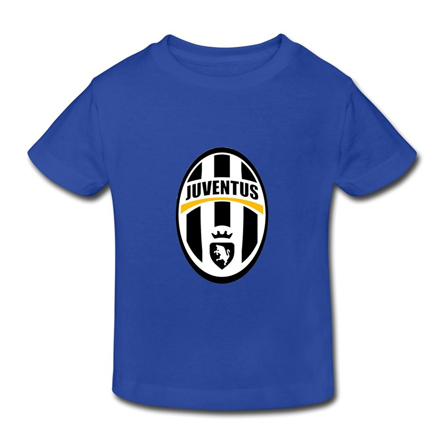 Get Quotations · Little Boys And Girls Cool Juventus Cotton T Shirt 5-6  Toddler RoyalBlue 0c28fdb3f75