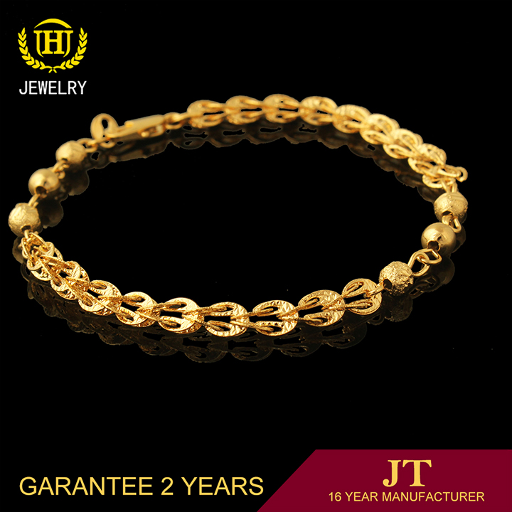 new design handmade fashion jewelry chain girls gold bracelets for ...