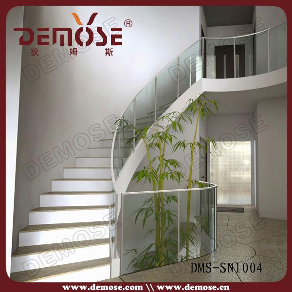 Interior barandales para escaleras interiores con moderno diseño ...