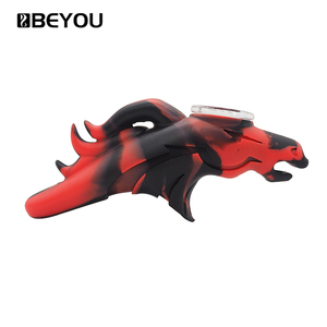 Beyou Weed Accessories Water Pipes Glass Smoking Tobacco Pipes