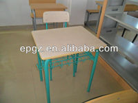 China Factory Direct Sale Student Reading Desk And Chair Classroom Furniture