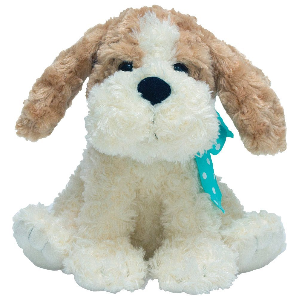 "Cuddle Barn® Buttons the Dog Animated Singing Musical Plush Toy, 10"" Super Soft Cuddly Stuffed Animal Flaps Ears and Bops to the Catchy Tune: How Much is that Doggie in the Window"