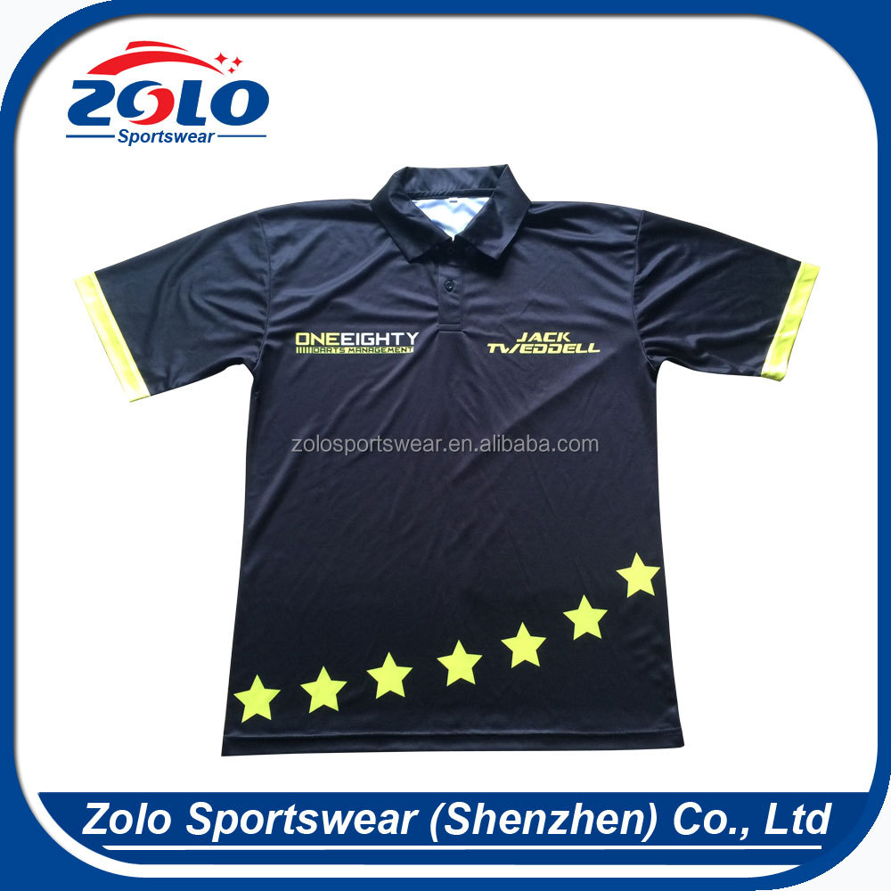 Design Your Own Fully Dye Sublimated Cheap Womens Polo