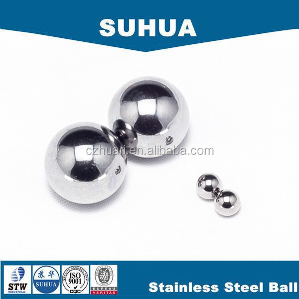 Ball Type Deep Groove Structure AISI420 5mm stainless steel ball for car sear slider