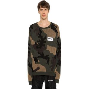 OEM Factory Profile Camo Cotton & Wool Loose version Sweater