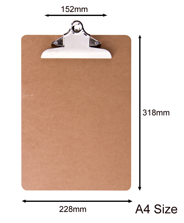 Eco China Cheap A4 Wooden Clipboard
