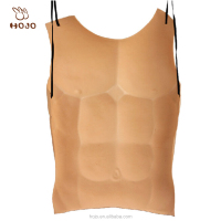 Fake men muscle Chest for halloween and carnival