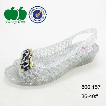 Transparente sandalias Plástico Las Mujeres Del Verano Cuña Buy Sandalias Moda Comodidad Para Mujeres De rdshQCtxB