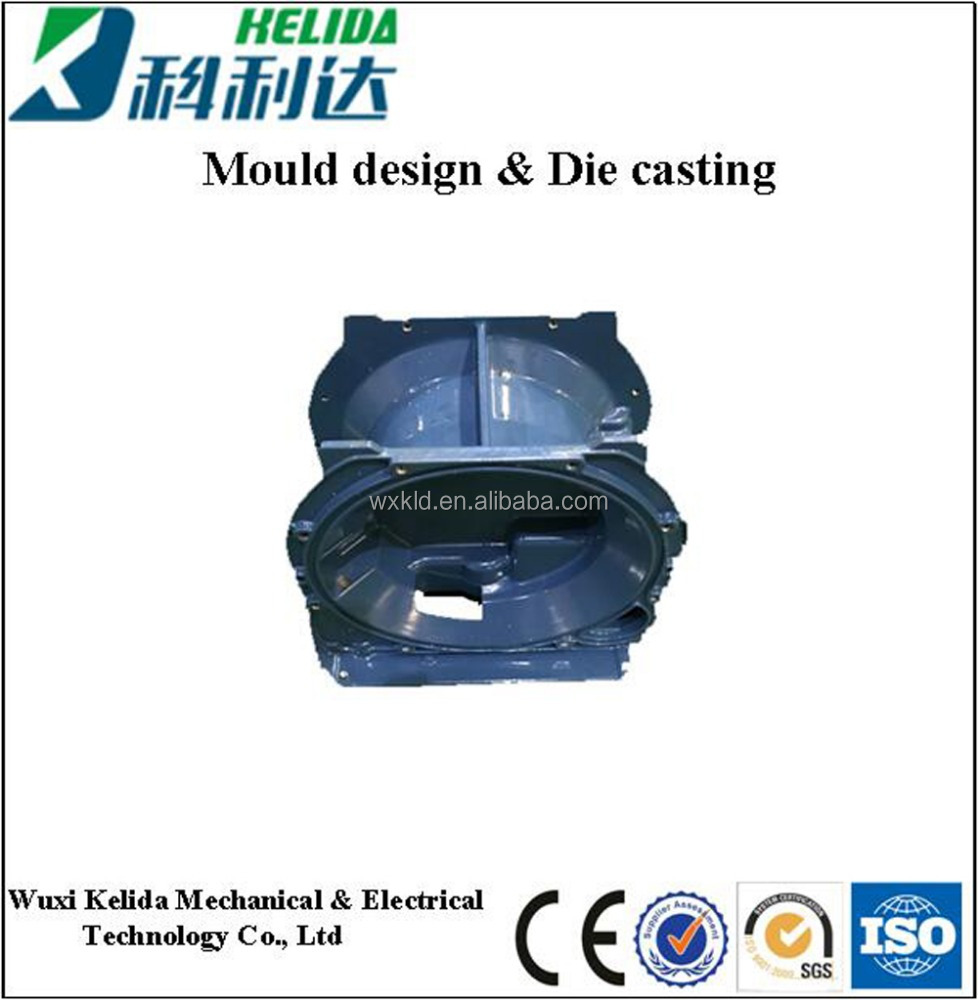 High Pressure Die Casting/Aluminium Die Casting Parts for Gas Meter