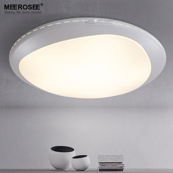 Meerosee Contemporary Led Ceiling Light Fixture For Bedroom Hallway Corridor Office Md81970 Lights