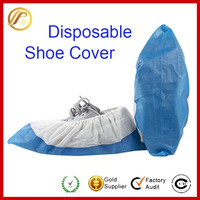 Premium Disposable Shoe Covers - Waterproof Bottom - Durable - One Size Fits All Up to XL - For Medical, Construction, Workplace
