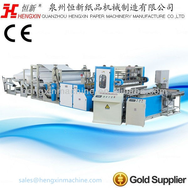 Automatic Small Toilet Paper Production Line For Sale &Kitchen Paper Towel Machine